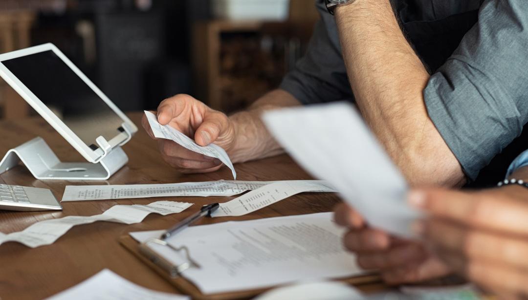 doing paperwork