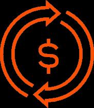 icon cycle money